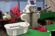 Indian-origin scientist develops robot that can do laundry