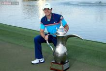 McIlroy hits record-equalling score to win second Dubai title