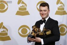 Grammy winner Sam Smith wants to inspire gay children with his album