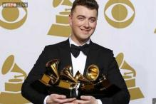 Grammy winner Sam Smith is still waiting for his trophies