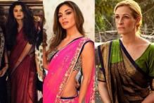 Nicole Scherzinger to Julia Roberts: International celebrities who've proved carrying off a sari isn't all that difficult