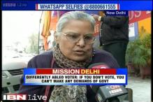 Delhi polls: Senior citizens urge youngsters to vote