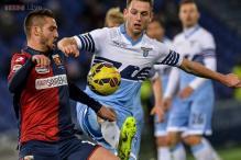 Genoa beat 10-man Lazio 1-0 in Serie A to halt slide