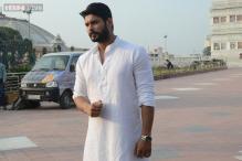 Siddharth Shukla finds solace in Mathura