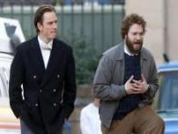 Steve Jobs biopic: Here are Michael Fassbender and Seth Rogen in behind-the-scenes shots from the film