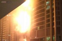 Fire erupts at Torch tower in Dubai, no casualties reported