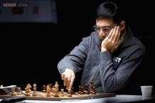 Viswanathan Anand draws with Fabiano Caruana at Zurich Chess Challenge