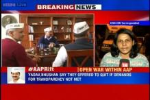 No decision on resignation of Yadav, Bhushan from AAP's national executive taken: Sources