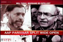 AAP accuses Prashant Bhushan, Yogendra Yadav of conspiring to defeat party in Delhi polls