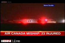 Air Canada plane leaves runway, 23 injured