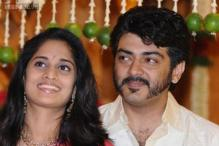 Its a boy for actor couple Ajith and Shalini