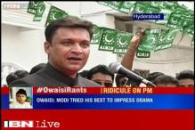 Modi changed dress four times on a day while Obama wore just one suit: Akbaruddin Owaisi