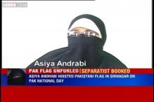 J&K: Separatist Asiya Andrabi booked for unfurling Pakistan flag on its national day in Srinagar