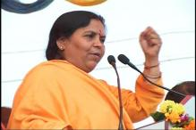 Uma Bharti seeks religious leaders' help in keeping Ganga clean