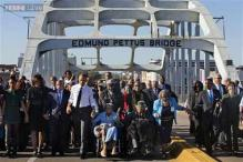 Bloody Sunday 50th Anniversary: Thousands crowd Selma bridge