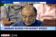 Watch: Lighter side of Budget 2015