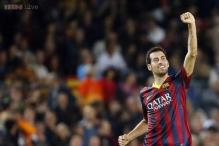 Barcelona midfielder Sergio Busquets given all-clear to face Real Madrid