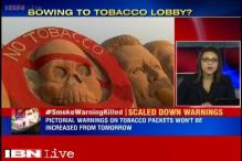 Is government buckling under tobacco lobby?