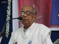 Noted writer Chidananda Murthy dragged by police in presence of Karnataka CM, detained