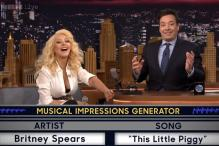 Christina Aguilera impersonates Britney Spears, Shakira on Jimmy Fallon's show and it is just perfect