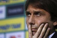 Italy coach Antonio Conte gets death threats after Marchisio injury