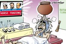 Cartoon of the day: AAP pratices horse trading?