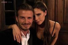 David Beckham praises 'beautiful wife' Victoria