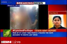 Dimapur lynching case: Nagaland government report rules out rape, calls it consensual sex