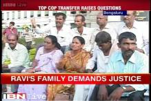 IAS officer DK Ravi's family protest outside Karnataka Assembly demanding CBI probe into his death