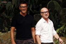 Fashion duo Dolce and Gabbana attacked for 'synthetic' babies comment