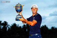 American Dustin Johnson rallies for victory at Doral