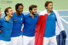 France beat Germany to progress in Davis Cup