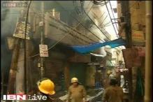 Delhi: Fire breaks out in 3-storey buildings in Gandhinagar market