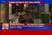 9-foot-tall Mahatma Gandhi statue unveiled at London's iconic Parliament Square