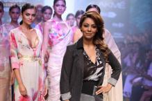 Lakme Fashion Week, Day 3: Shah Rukh Khan's wife Gauri Khan debuts her creation on the runway for Satya Paul