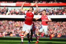 EPL: Giroud bounces back to score as Arsenal beat Everton 2-0