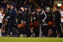 Swansea striker Bafetimbi Gomis collapses during Premier League match