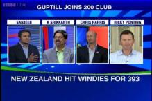 Kings of Cricket: Guptill's double ton powers NZ to 393 vs WI