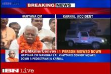 Pedestrian succumbs to injuries after being hit by Haryana CM's convoy