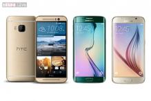 Samsung Galaxy S6, S6 Edge vs HTC One M9: How the new flagships measure against each other