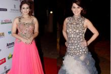 Photos: Huma Qureshi, Tapsee Pannu, Ragini Khanna walk the ramp for designer Preety Agarwal