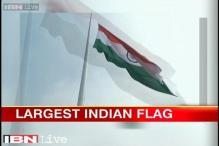 Largest Indian flag weighing 48 kgs to be hoisted in Faridabad