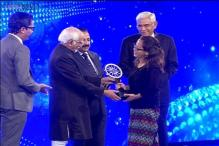 Tongam Rina wins Indian of the Year in public service category