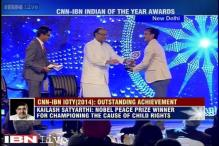 IOTY 2014: Azim Premji, Kailash Satyarthi win Outstanding Achievement Award