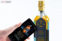 A 'smart' Johnnie Walker bottle that tells you if it has been unsealed before