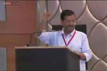 Watch: Arvind Kejriwal's speech at AAP's National Council meet on Saturday