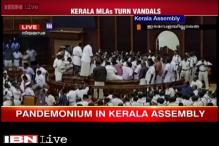 Budget presented amid ruckus in Kerala Assembly