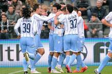 Serie A: Lazio beat Sassuolo 3-0 to keep up the pressure on Napoli