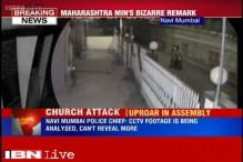 Maharashtra Minister sparks controversy, says foreign hand behind church attack