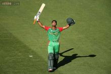 Mohammad Mahmudullah hits Bangladesh's first World Cup century
